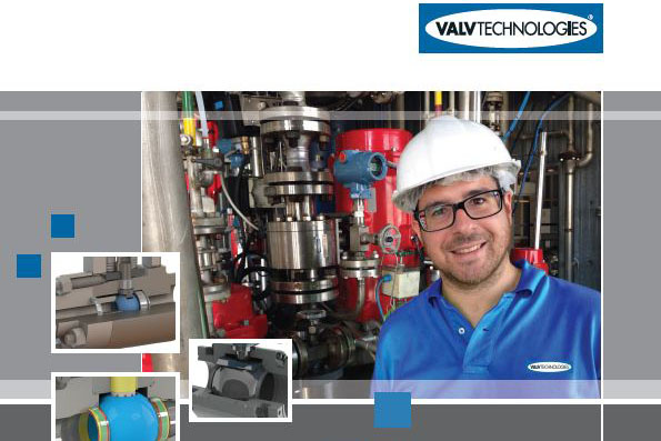 ValvTechnologies severe service valve and engineered product brochures