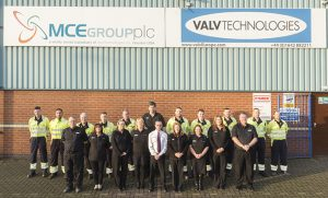 MCE Group employee photo. Valv Europe.