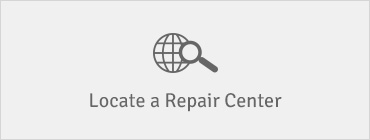 locate a repair center button