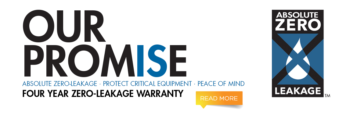 Our promise for a four year zero-leakage warranty