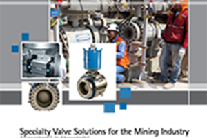 Specialty Valve Solutions for the Mining Industry Brochure cover