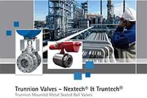 Trunnion Ball Valves Nextech & Truntech Brochure Cover