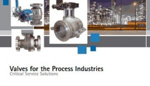 Valve for the Process Industries Brochure cover