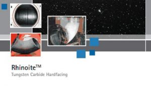 Rhinorite® Hardfacing Brochure Cover