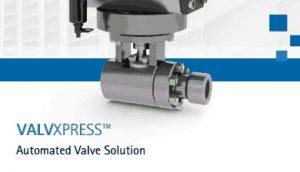 ValvXpress Brochure cover