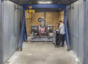 ValvTechnologies' Test Bunker for severe service valve testing