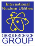 International Nuclear Utilities Obsolescence Group Logo.