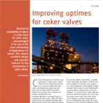 Improving uptimes for coker valves